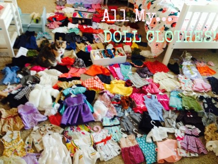 all my doll clothes